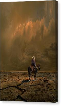 Canvas Print featuring the photograph 4378 by Peter Holme III