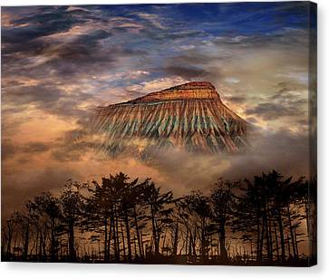 Canvas Print featuring the photograph 4381 by Peter Holme III