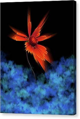 Canvas Print featuring the photograph 4383 by Peter Holme III