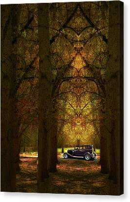 Canvas Print featuring the photograph 4390 by Peter Holme III