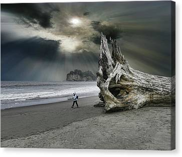Canvas Print featuring the photograph 4392 by Peter Holme III