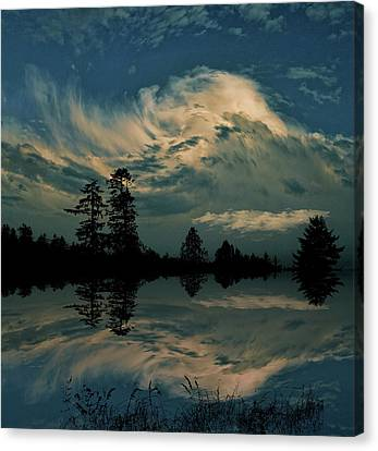 Canvas Print featuring the photograph 4395 by Peter Holme III
