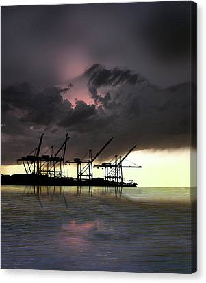 Canvas Print featuring the photograph 4396 by Peter Holme III