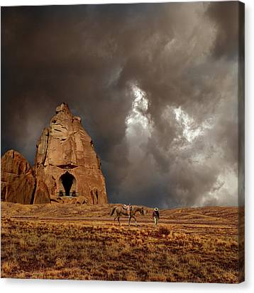Canvas Print featuring the photograph 4398 by Peter Holme III