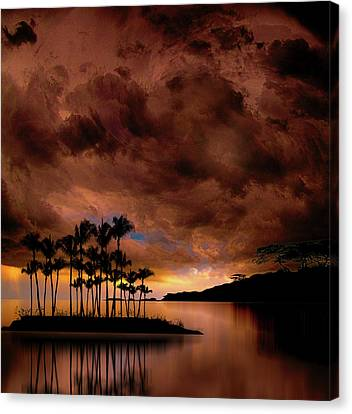 Canvas Print featuring the photograph 4401 by Peter Holme III