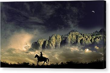 Canvas Print featuring the photograph 4403 by Peter Holme III