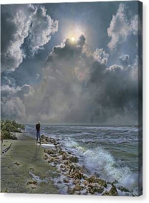 Canvas Print featuring the photograph 4405 by Peter Holme III
