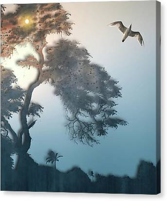 Canvas Print featuring the photograph 4408 by Peter Holme III