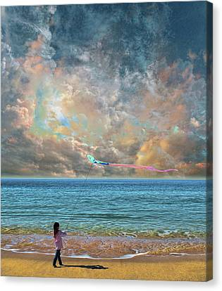 Canvas Print featuring the photograph 4410 by Peter Holme III