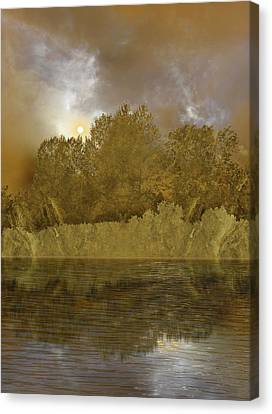 Canvas Print featuring the photograph 4411 by Peter Holme III
