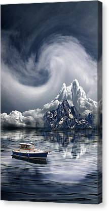 Canvas Print featuring the photograph 4412 by Peter Holme III