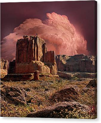 Canvas Print featuring the photograph 4417 by Peter Holme III
