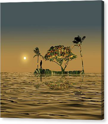 Canvas Print featuring the photograph 4423 by Peter Holme III