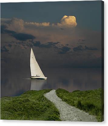 Canvas Print featuring the photograph 4456 by Peter Holme III