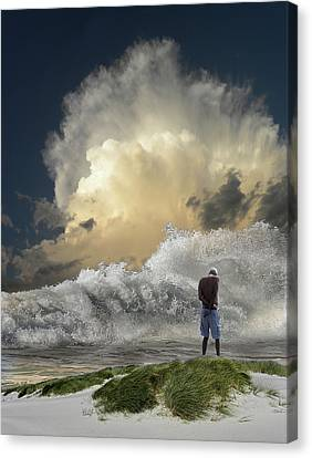 Canvas Print featuring the photograph 4457 by Peter Holme III