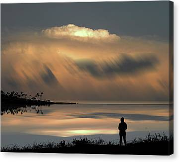 Canvas Print featuring the photograph 4459 by Peter Holme III