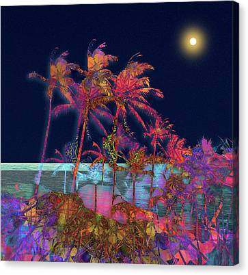 Canvas Print featuring the photograph 4461 by Peter Holme III