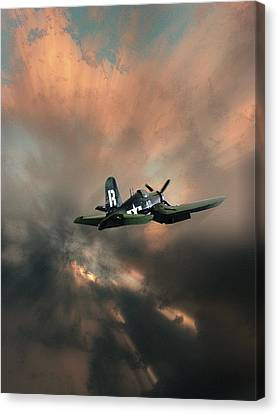 Canvas Print featuring the photograph 4462 by Peter Holme III