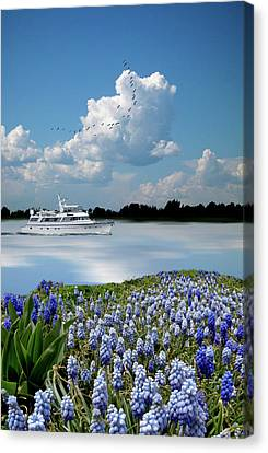 Canvas Print featuring the photograph 4464 by Peter Holme III