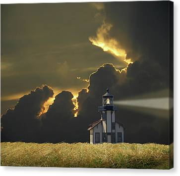 Canvas Print featuring the photograph 4465 by Peter Holme III