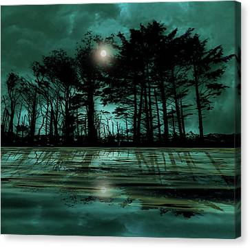 Canvas Print featuring the photograph 4466 by Peter Holme III