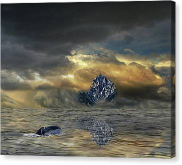 Canvas Print featuring the photograph 4471 by Peter Holme III