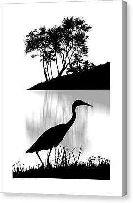 Canvas Print featuring the photograph 4474 by Peter Holme III