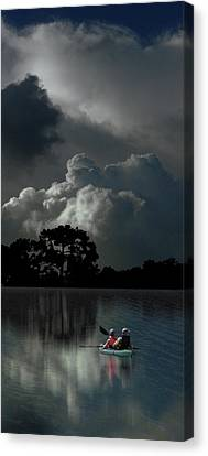 Canvas Print featuring the photograph 4477 by Peter Holme III