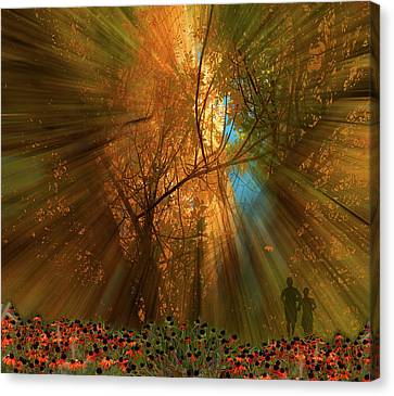 Canvas Print featuring the photograph 4478 by Peter Holme III