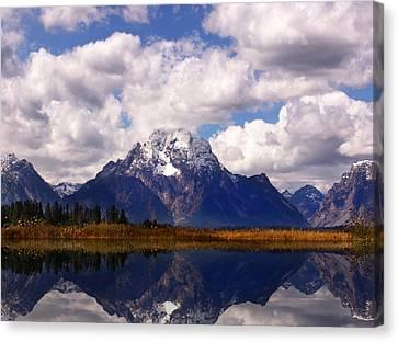 Grand Teton National Park Canvas Print by Mark Smith