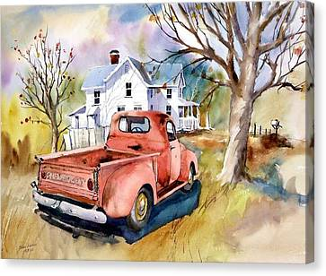 ''47'' Chevy Blues Canvas Print