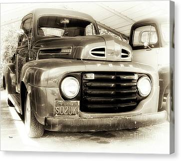 48 Ford  Canvas Print by Steven Digman