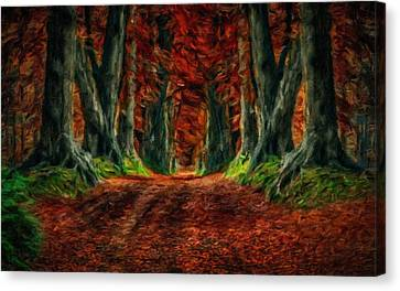 Landscape Wall Art Canvas Print by Victoria Landscapes