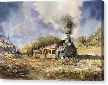 481 From Durango Canvas Print by Sam Sidders