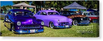 1949 Merc Canvas Print - 49-50-51 by Customikes Fun Photography and Film Aka K Mikael Wallin