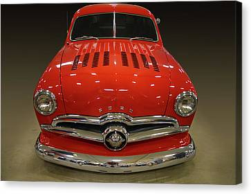 49 Club Coupe Canvas Print by Bill Dutting