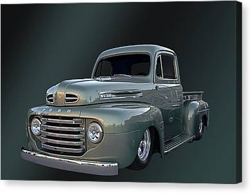 49 Ford Pick Up Canvas Print by Jim  Hatch