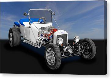 1923 Ford T-bucket Roadster Canvas Print by Frank J Benz