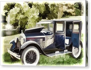 1924 Buick Duchess Antique Vintage Photograph Fine Art Prints 106 Canvas Print by M K  Miller