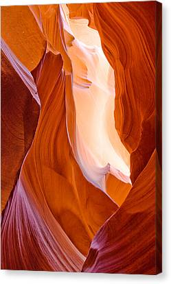 Canyon Canvas Print - Antelope Canyon by Carl Amoth