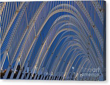 Archway In Olympic Stadium In Athens Canvas Print