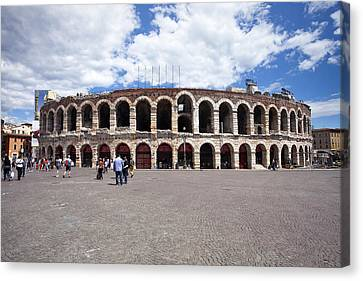 Arena Canvas Print by Andre Goncalves