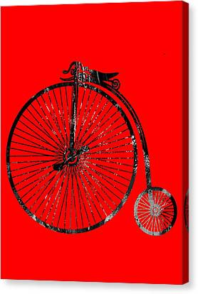 Bicycle Collection Canvas Print