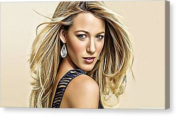 Blake Lively Collection Canvas Print