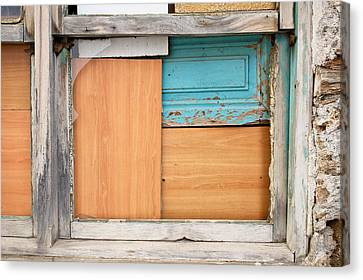 Boarded Up Window Canvas Print