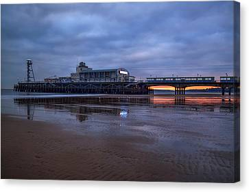 Bournemouth - England Canvas Print by Joana Kruse