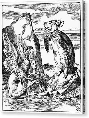 Carroll: Alice, 1865 Canvas Print by Granger