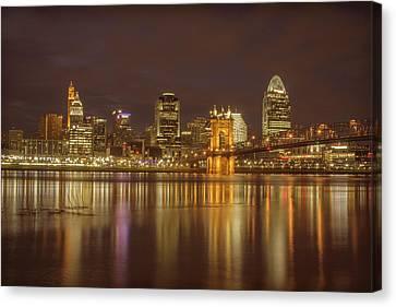 Cincinnati, Ohio Canvas Print by Scott Meyer