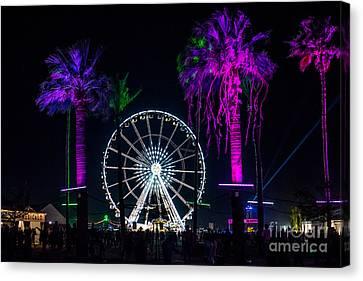 Coachella Music Festival 2015 Canvas Print