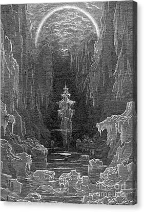 Coleridge: Ancient Mariner Canvas Print by Granger